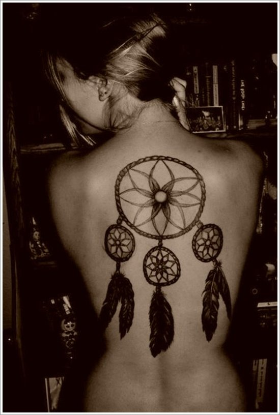 Dreamcatcher Tattoo Designs (30)