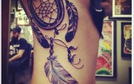 Dreamcatcher Tattoo Designs (32)