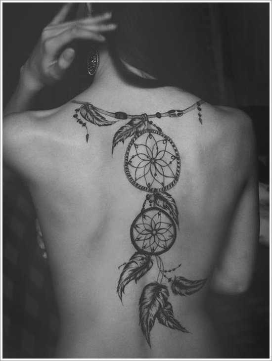 Dreamcatcher Tattoo Designs (33)
