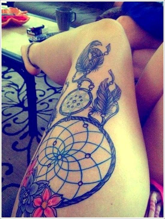 Dreamcatcher Tattoo Designs (39)