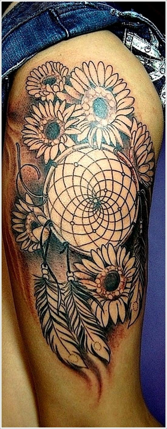 Dreamcatcher Tattoo Designs (4)