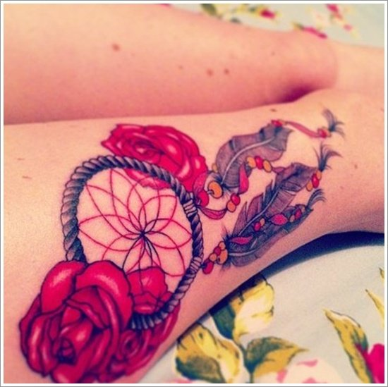 Dreamcatcher Tattoo Designs (41)
