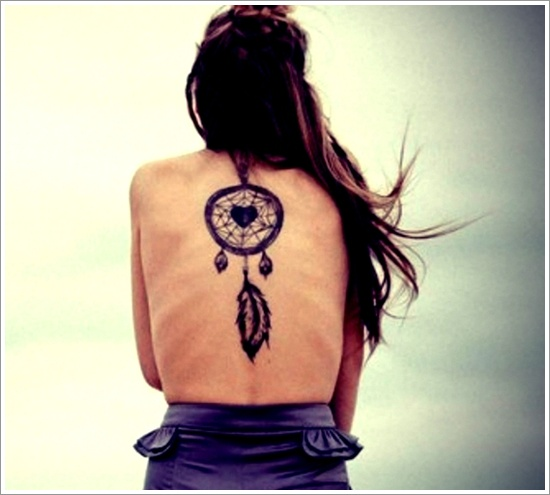 Dreamcatcher Tattoo Designs (7)