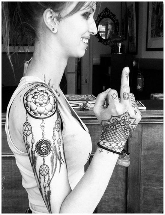 Dreamcatcher Tattoo Designs (8)