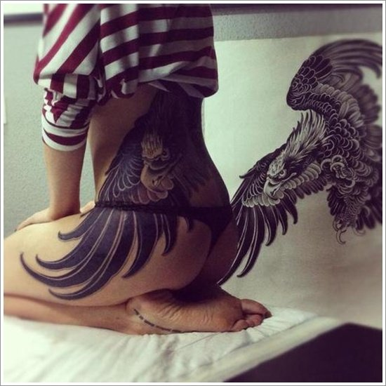 tattoo designs band tribal thigh Tattoo 35 Designs Grabbing Attention Eagle