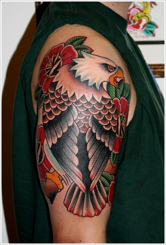 EAGLE TATTOO DESIGNS (7)