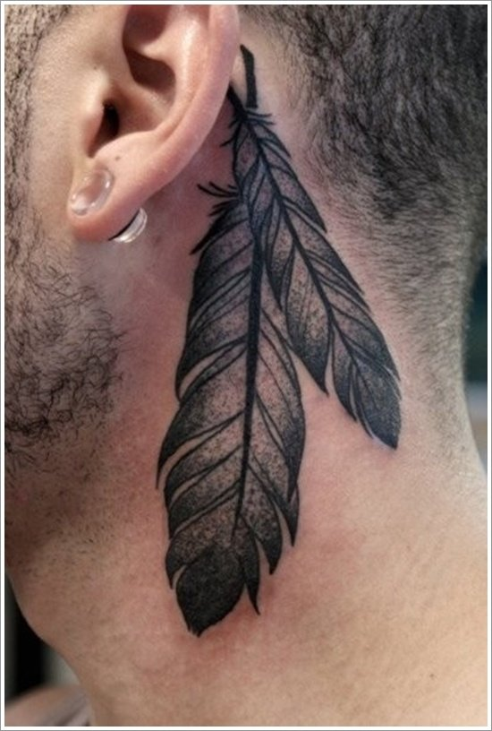 Feather Tattoo Designs (8)