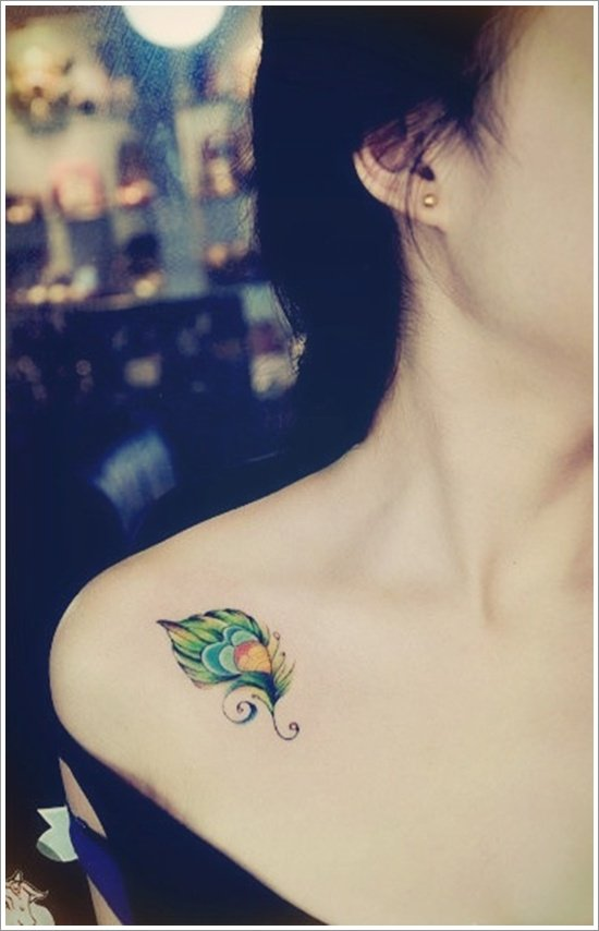 Feather Tattoo Designs (9)
