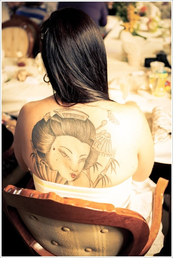 Geisha Tattoo Designs (11)