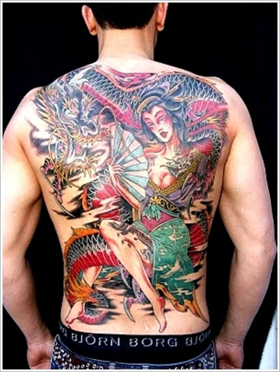 Geisha Tattoo Designs (13)