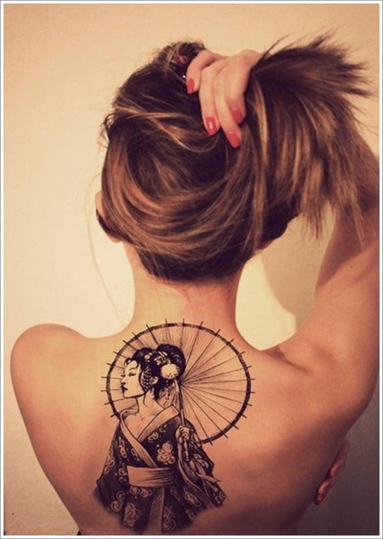 Geisha Tattoo Designs (14)