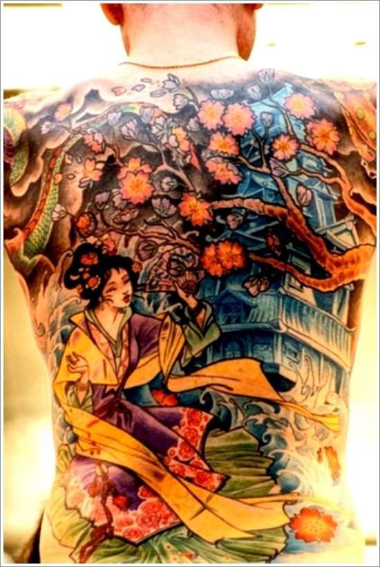 Geisha Tattoo Designs (16)
