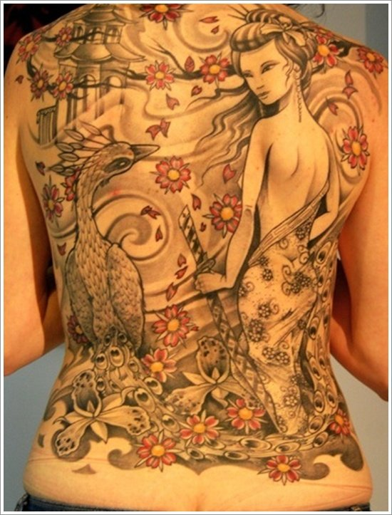 Geisha Tattoo Designs (19)