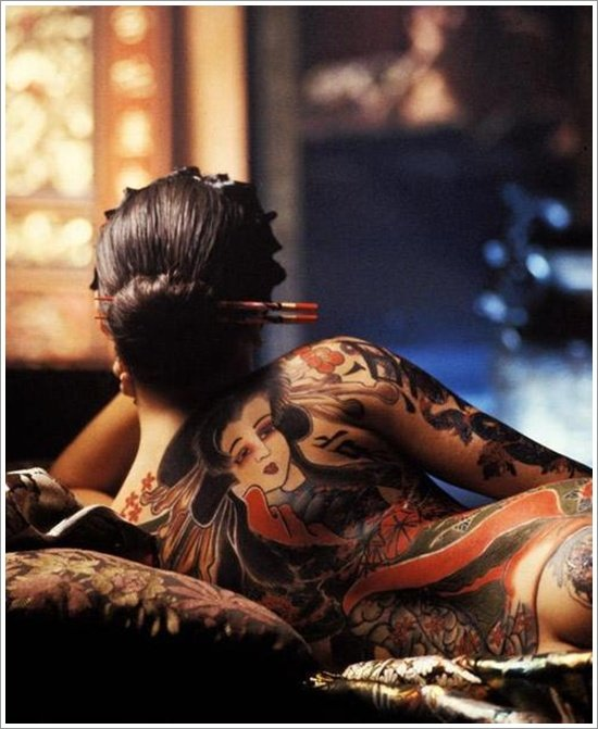 Geisha Tattoo Designs (21)