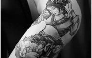 Geisha Tattoo Designs (22)
