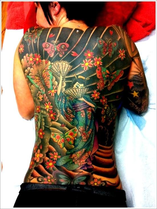 Geisha Tattoo Designs (24)