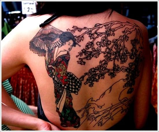 Geisha Tattoo Designs (25)