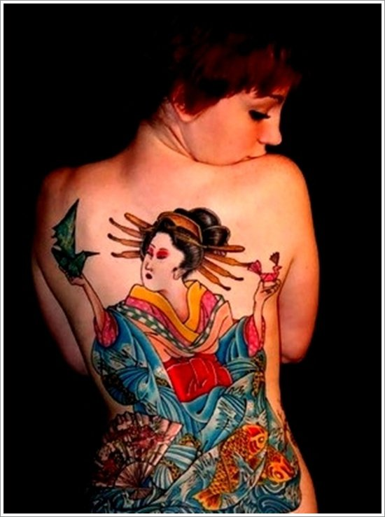 Geisha Tattoo Designs (26)
