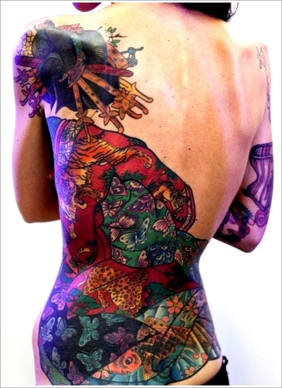 Geisha Tattoo Designs (3)