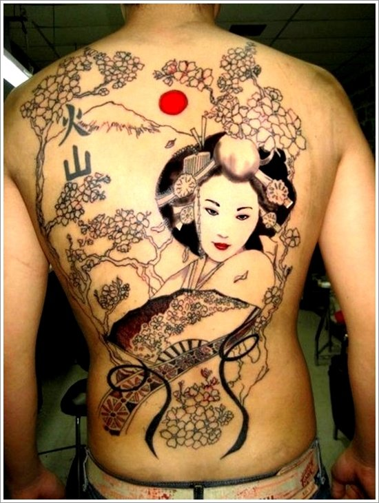 Geisha Tattoo Designs (32)
