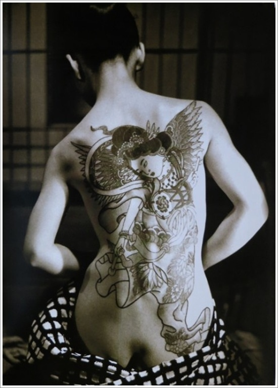 Geisha Tattoo Designs (35)