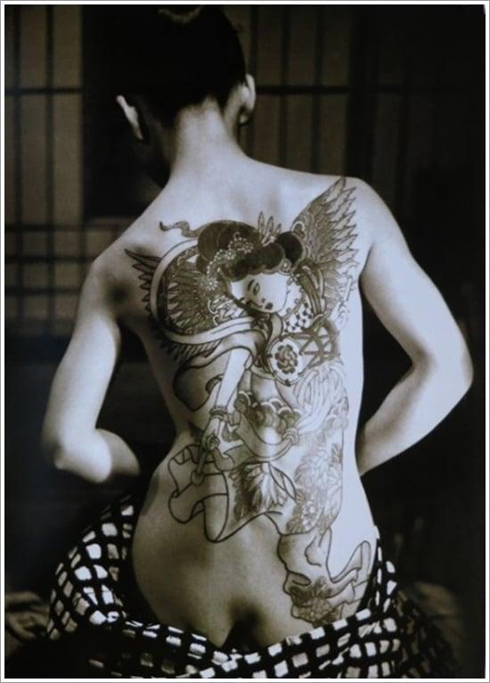 Geisha Tattoo Designs (35)