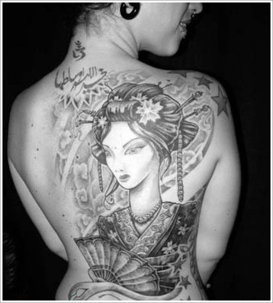 Geisha Tattoo Designs (40)