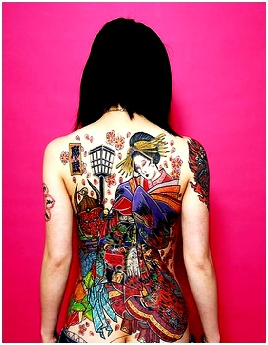 Geisha Tattoo Designs (41)