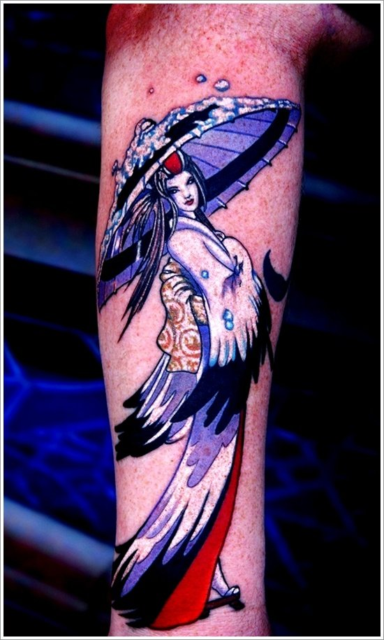 Geisha Tattoo Designs (5)