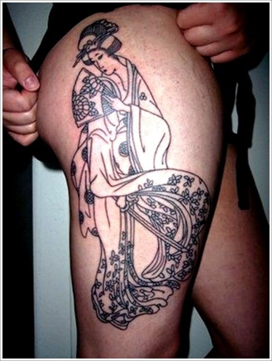 Geisha Tattoo Designs (8)