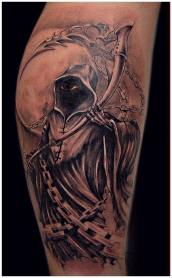 Grim Reaper Tattoo Designs (1)
