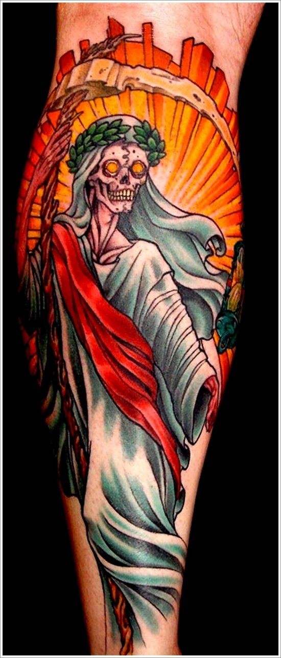 Grim Reaper Tattoo Designs (12)