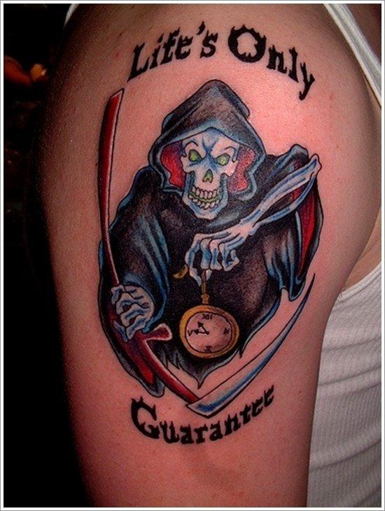 Grim Reaper Tattoo Designs (2)