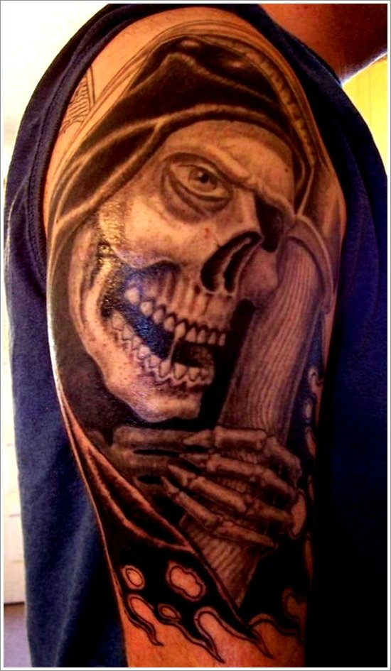 Grim Reaper Tattoo Designs (20)