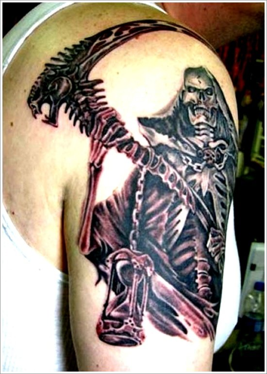 Grim Reaper Tattoo Designs (22)