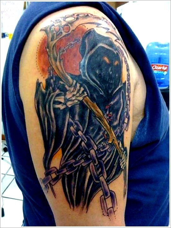 Grim Reaper Tattoo Designs (26)