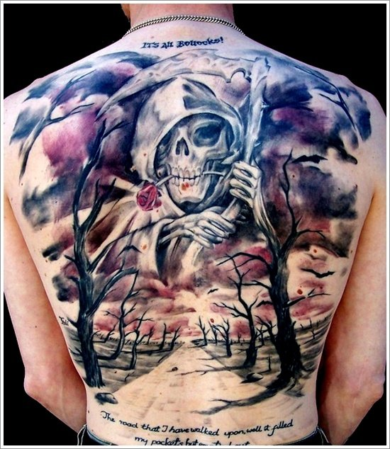 Grim Reaper Tattoo Designs (27)