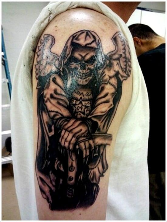 Grim Reaper Tattoo Designs (3)