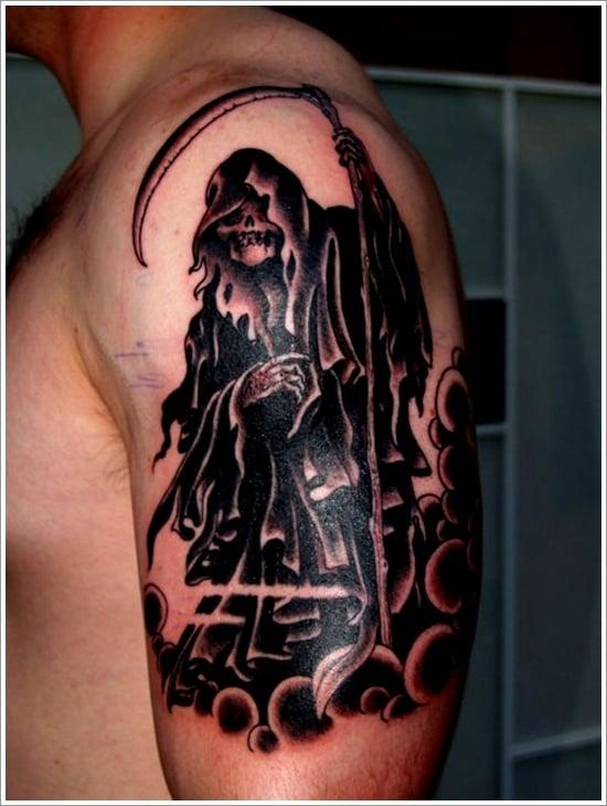 Grim Reaper Tattoo Designs (31)