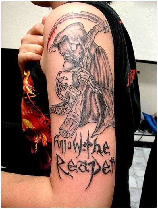 Grim Reaper Tattoo Designs (8)