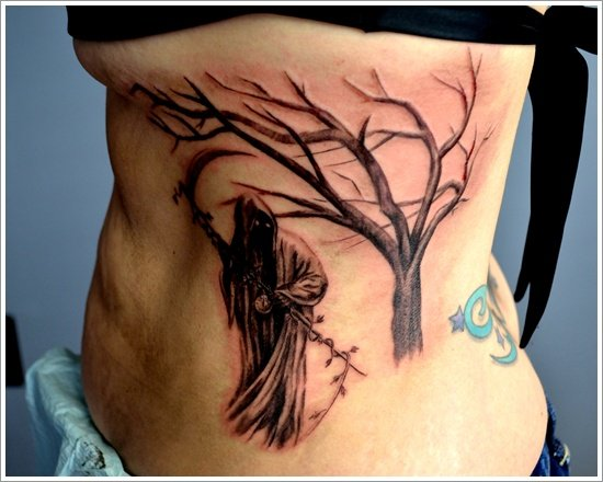 Grim Reaper Tattoo Designs (9)