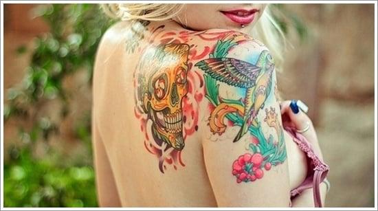 HUMMINGBIRD TATTOO DESIGNS (29)