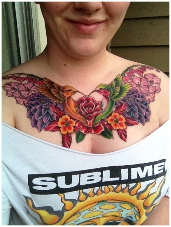 HUMMINGBIRD TATTOO DESIGNS (32)
