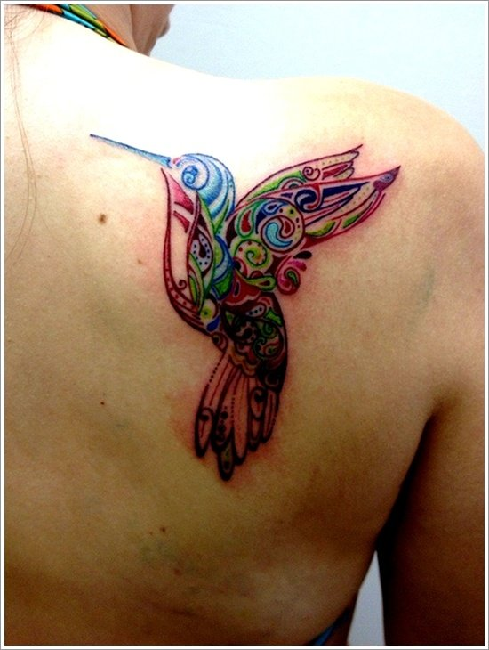 HUMMINGBIRD TATTOO DESIGNS (5)