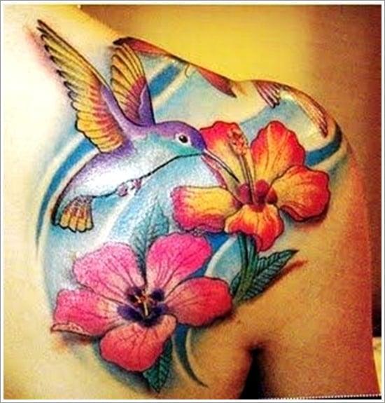 HUMMINGBIRD TATTOO DESIGNS (7)