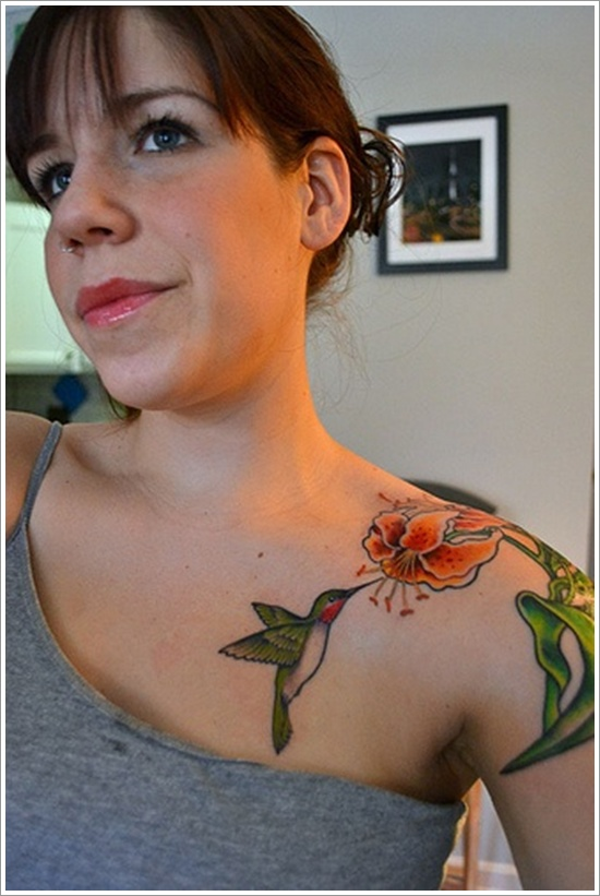 HUMMINGBIRD TATTOO DESIGNS (8)