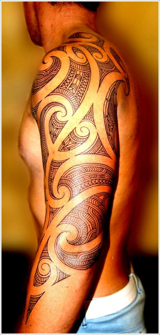 45 unique maori tribal tattoo designs
