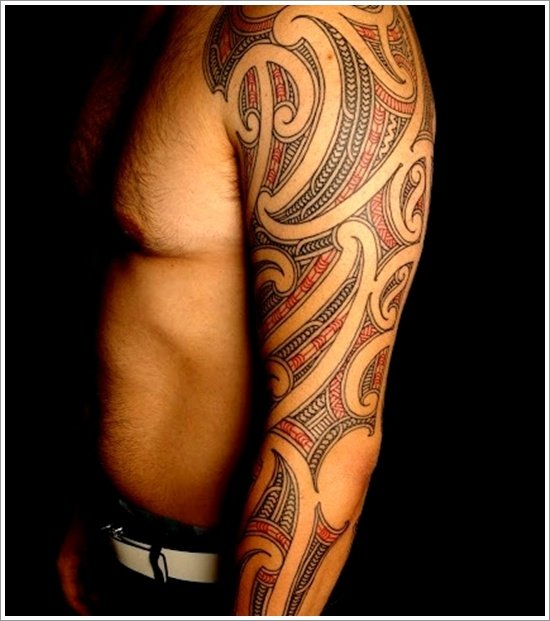 Maori Tattoo thiết kế (19)