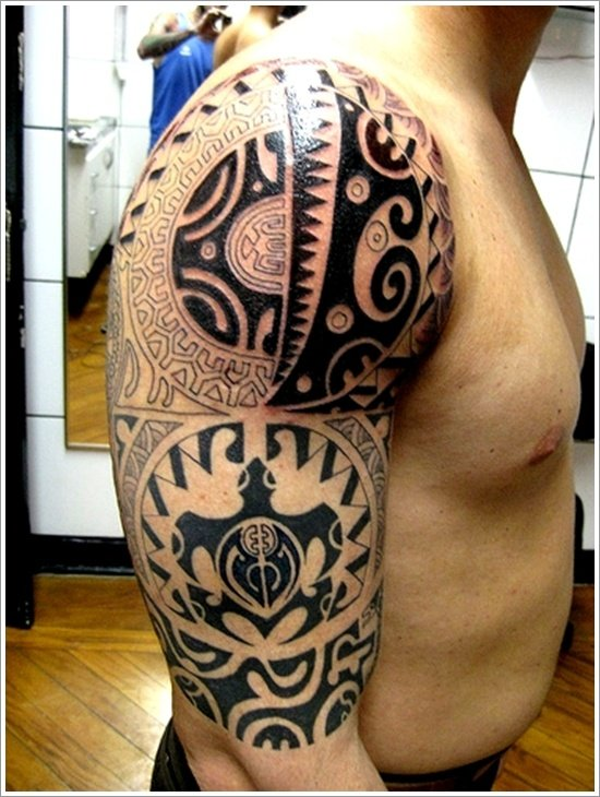 Tatuagem Maori: 45 Unique Maori Tribal Tattoo Designs