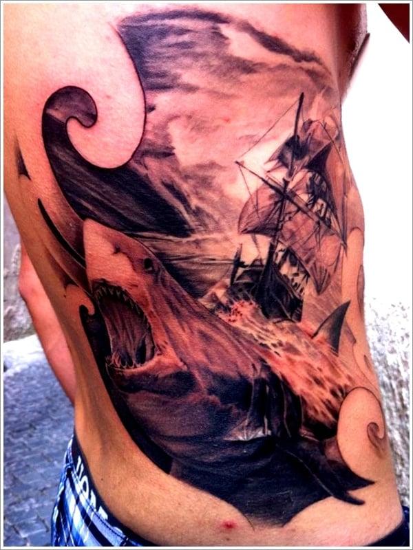 Shark tattoo designs (10)